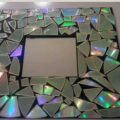 ساخت کاردستی قاب آیینه درخشان + تصاویر