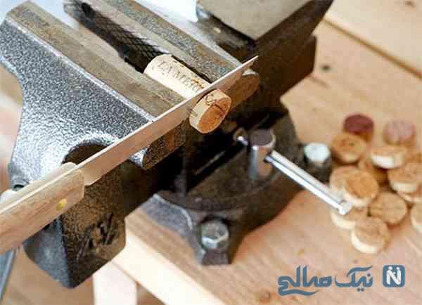ساخت گردنبند با چوب پنبه