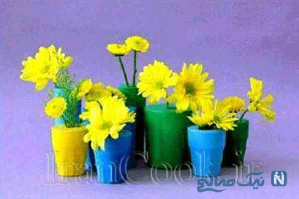 ساخت کاردستی گلدان با بادکنک