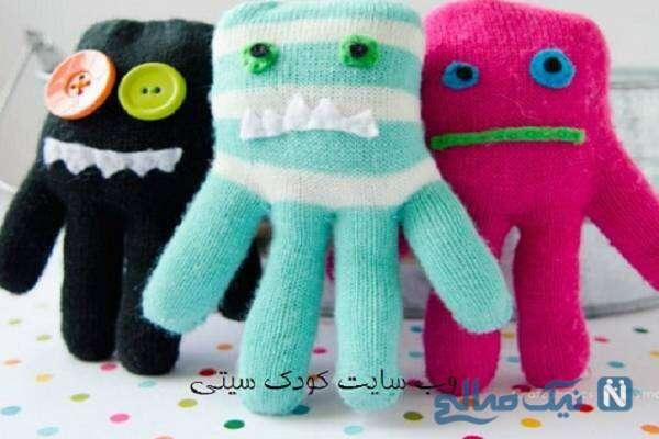آموزش ساخت کاردستی عروسک / دستکش