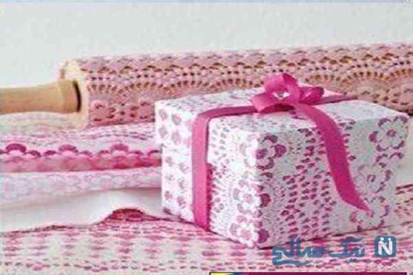 ساختن جعبه کادوی زیبا با طرح دلخواه برای ولنتاین متفاوت