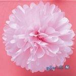 آموزش ساخت گل کاغذی بسیار ساده با دستمال کاغذی