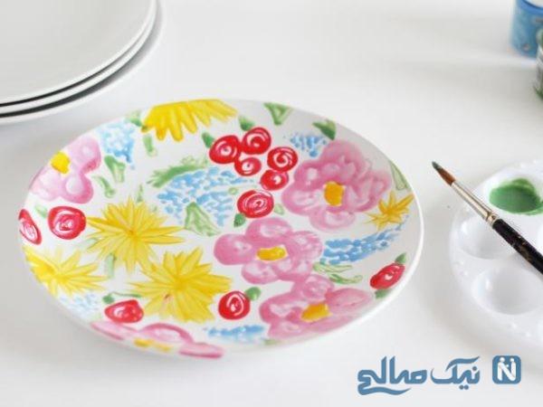 نقاشی ظروف