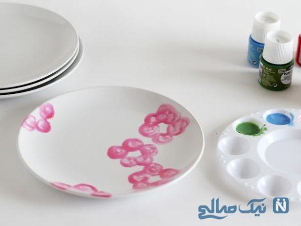 نقاشی ظروف چینی