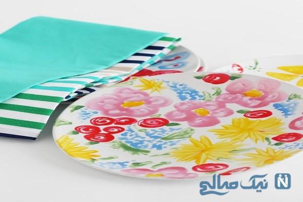 ظروف چینی ساده را به دلخواه خود در خانه رنگ کنید+ تصاویر