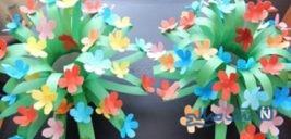 آموزش ساخت دسته گل زیبا برای تزیین خاص سفره ی هفت سین+تصاویر