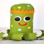 آموزش ساخت عروسک اختاپوس بسیار جالب با فوم+تصاویر