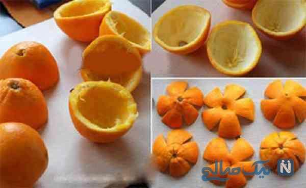 آویز با پوست پرتقال