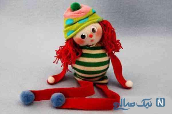 آموزش ساخت عروسک بسیار زیبا و ساده با جوراب +تصاویر
