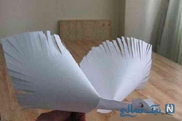 آموزش ساخت لک لک بسیار جالب و زیبا با کاغذ