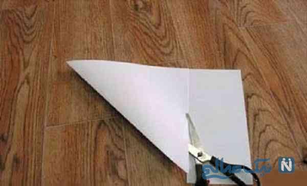 ساخت لک لک با کاغذ