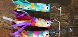 آموزش ساخت آویز ماهی با وسایل دورریختنی+تصاویر