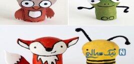 آموزش ساخت عروسک های بسیار زیبا با چوب پنبه و یونولیت +تصاویر