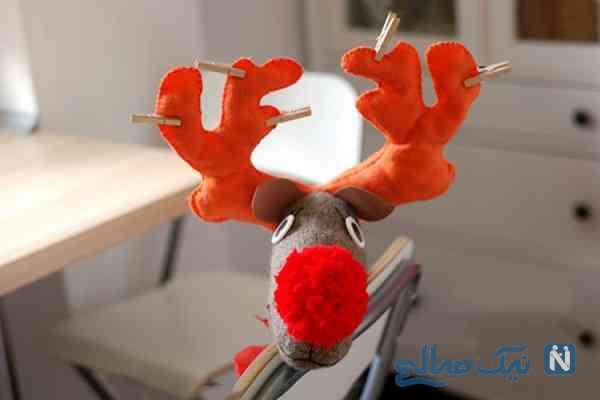 آموزش ساخت عروسک گوزن با جوراب و روشی بسیار ساده