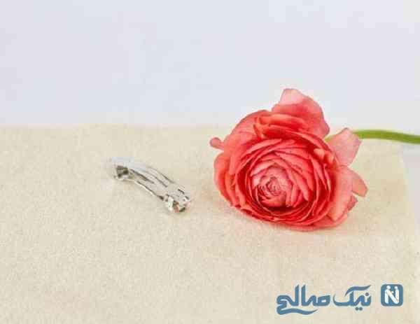 گل سر با گل طبیعی