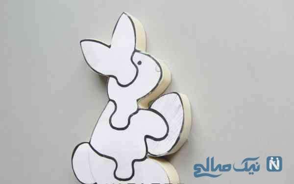 ساخت پازل خرگوشی