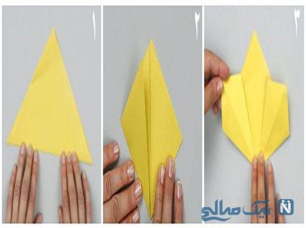 آموزش ساخت آویز کاغذی