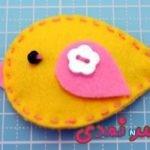 برای کودکان دوست داشتنی گل سرزیبا با پارچه نمدی درست کنید