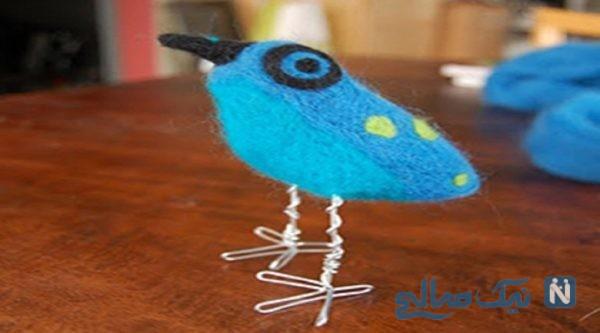به راحتی برای کوچولوهای دوست داشتنی عروسک پرنده با وسایل بسیار ساده بسازید