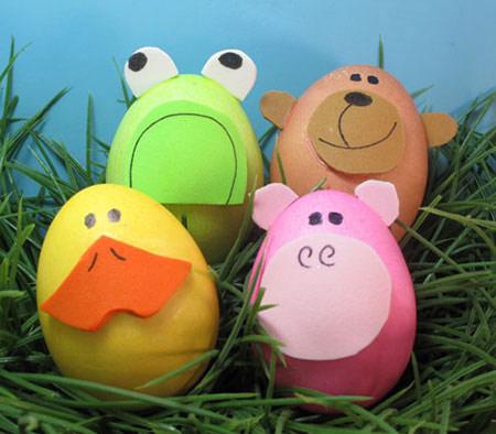 آموزش تزیین تخم مرغ سفره هفت سین بسیار متفاوت و دوست داشتنی+تصاویر