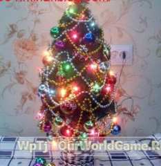 ساخت درخت کریسمس بسیار زیبا برای افراد خوش ذوق+تصاویر