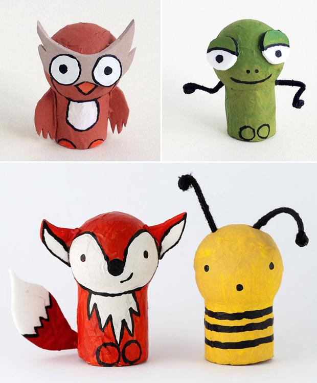 آموزش ساخت عروسک های بسیار زیبا با چوب پنبه و یونولیت+تصاویر
