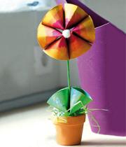 ساخت کاردستی گل مقوایی + تصاویر