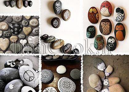 ساخت کاردستی با سنگ + تصاویر