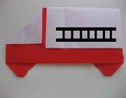 آموزش کاردستی کامیون کاغذی بسیار زیبا و آسان +تصاویر
