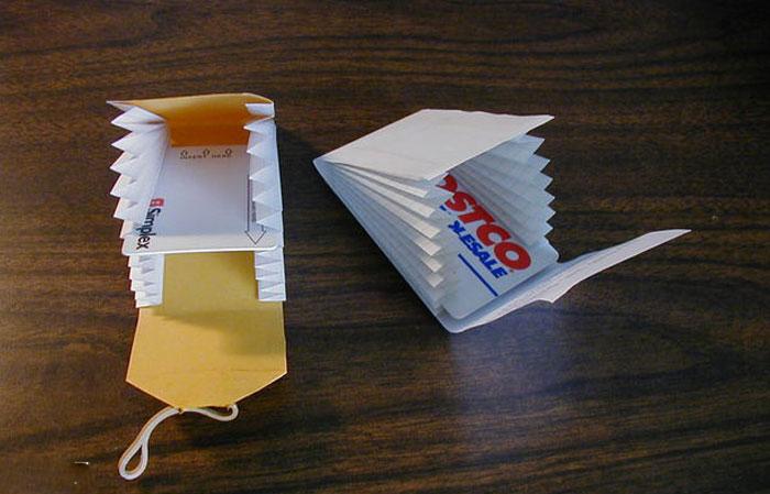 آموزش ساختن کیف پولی بسیار زیبا با کاغذ+تصاویر