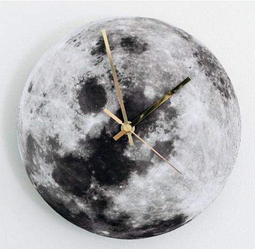 آموزش ساخت کاردستی ساعت دیواری ماه+تصاویر