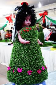 آموزش ساخت سبزه زیبا به شکل عروسک برای نوروز۹۵+تصاویر