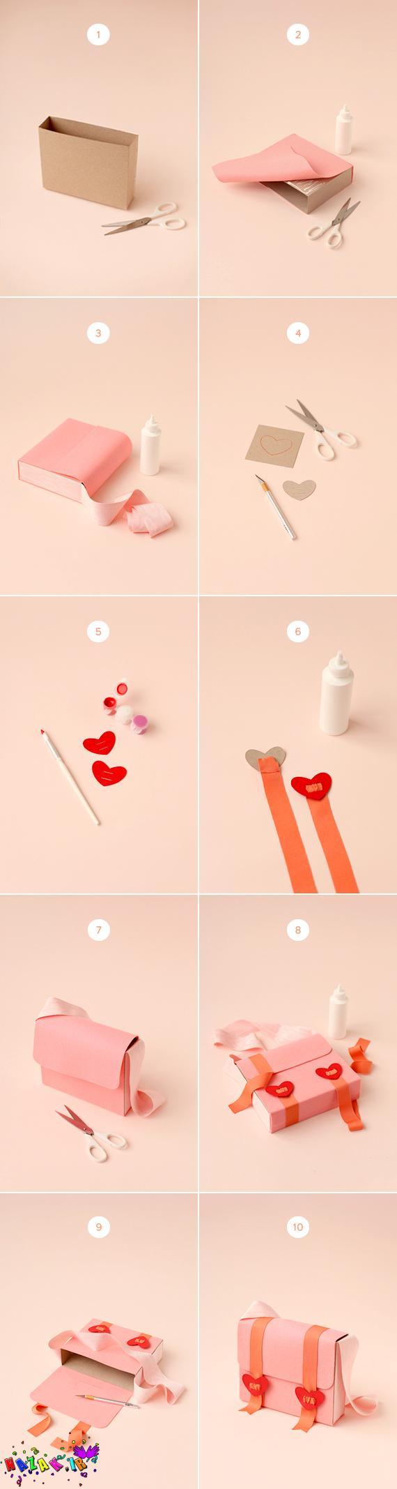 ساخت کاردستی یک کیف زیبای دخنرانه + تصاویر