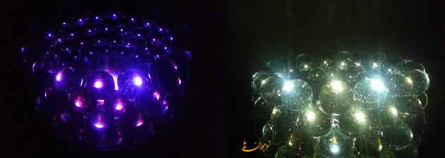 ساخت کاردستی جا شمعی زیبا + تصاویر