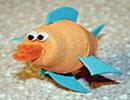 ساخت ماهی عروسکی ، یک کاردستی فوق العاده آسان برای بچه ها + عکس