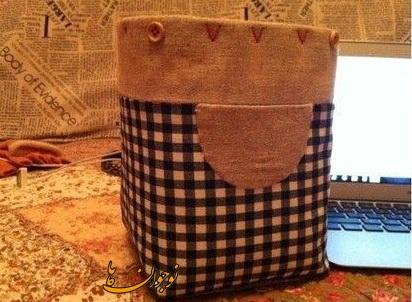 ساخت کاردستی سطل زباله ساخت کاردستی سطل کاغذ باطله + تصاویر - کاردستی