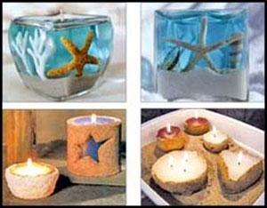 چگونه شمع زیبا و شیک بسازیم؟؟؟+ عکس