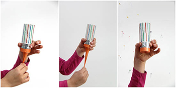 آموزش ساخت بمب شادی بسیار جالب و ساده با وسایل دور ریختنی + تصاویر