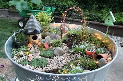 ساخت کاردستی گلدان ابتکاری + تصاویر