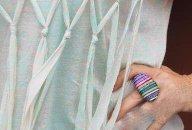 آموزش ساخت انگشتر سنگی بسیار زیبا با سنگ+تصاویر