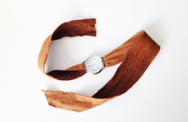 آموزش تزیین ساعت مچی بسیار شیک و زیبا با روشی ساده+تصاویر