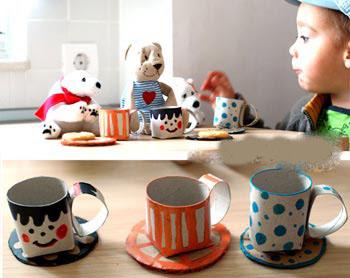 تصاویر کاردستی تلویزیون با جعبه دستمال کاغذی آموزش ساخت فنجان بسیـار جالب و  زیبا با رول دستمال کاغذی ...