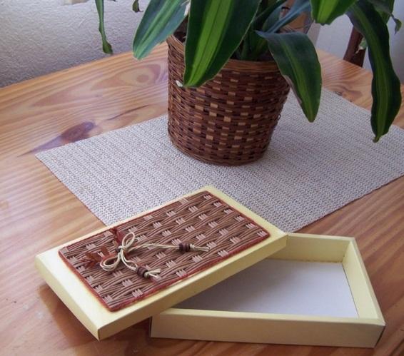 نحوه تزئین جعبه های خالی + تصاویر