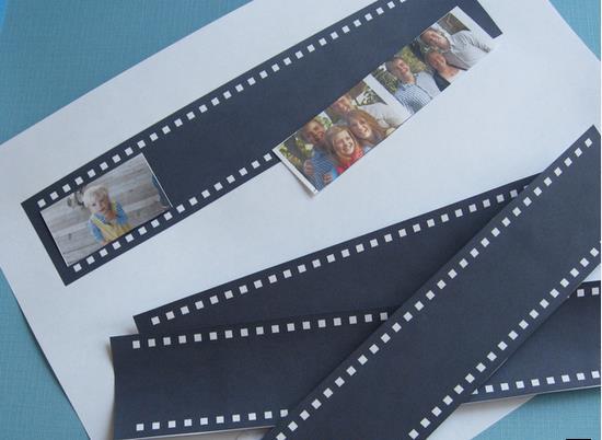 ساخت کاردستی جامدادی رومیزی با عکس های خانوادگی + تصاویر