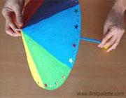 آموزش ساخت چتر رنگی زیبا با وسایل ساده+تصاویر
