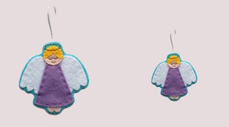 آموزش ساخت عروسک نمدی بسیار زیبا / آویز عروسک نمدی داشته باشید+تصاویر
