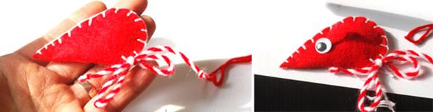 آموزش ساخت عروسک دوست داشتنی موشها با پارچه نمدی+تصاویر