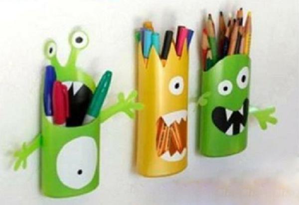 جامدادی قورباغه ای بسیار جالب برای کودکان دوست داشتنی بسازید تصاویر