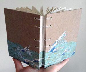 دفترچه خاطرات زیبا را با روشی بسیار ساده درست کنید+تصاویر