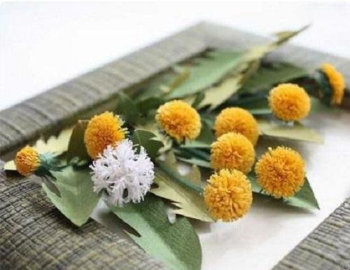 قاب عکس گل های برجسته بسیار زیبا با وسایل ساده بسازید+تصاویر